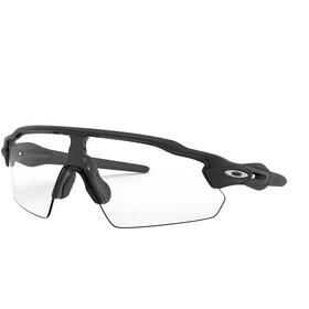 Oakley Radar EV Pitch Sunglasses, matte black/clear-black photochromic